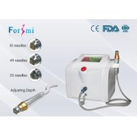 Quality CE approved 8.4 colorized touch radio frequency rf fractional micro-needling facial and body skin care machine wholesale