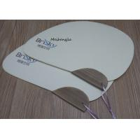 Quality Knives Shape Hand Held Paper Fans Recycled Materials Folk Art Traditional Style wholesale