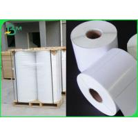 China Tear Resistant Polyethylene PE Coated Paper For Adhesive Sticker Waterproof on sale
