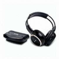 Quality UHF Comfortable Wearing 2.4GHz Wireless Headphones with 100 Meters Operation Distance wholesale