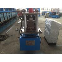 Quality Z Purlin Cold Roll Forming Machine 14 Stations with Gcr12 Cutter wholesale