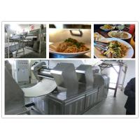 China Efficiency Automatic Fried Instant Noodle Making production lines supplying noodle machines on sale