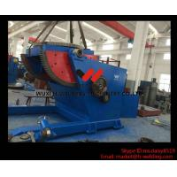 Cheap Pipe or Tank Welding Turning Table / Turning Revolve Table Self Adjustable Type for sale