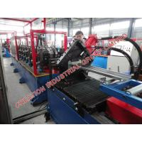 Steel Window / Door Frame Roll Forming Machine With Mitsubishi PLC Controller