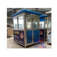 Quality Steel Structure Prefabricated Sentry Box , security guard room Movble wholesale