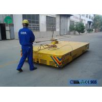 Quality Environmental platform motorized trackless transfer carriage with limit switch wholesale