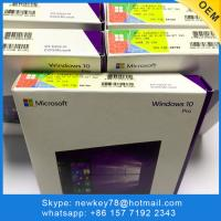China Shop Official Windows 10 Pro OEM Key / Windows 10 Home Edition Activation Key on sale