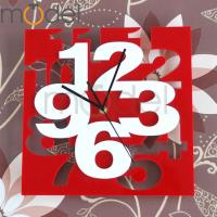 Quality Double Side Simple Acrylic Wall Clock Fashion Home Decorating Clock wholesale