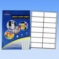 Quality Computer Labels/Avery Labels, Used for Lasers and Inkjet Printers, Customized Sizes Accepted wholesale