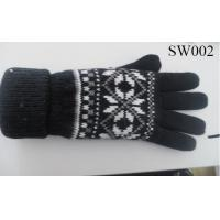 Quality ladies wool gloves SW002 high quality fashion gloves warm glove wholesale