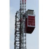 Quality Durable Single Cage Building Construction Material Hoist Lift High Speed wholesale