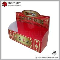 Table cardboard display cardboard counter display box for for Table 52 cards