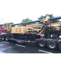 Quality Yellow Rotary Drilling Rigs with cummins engine max drilling depth 32m / Max output torque 100 KN.m wholesale