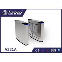 Quality Smart Flap Barrier Turnstile Guide Pedestrians Correct And Smooth Passage wholesale