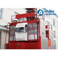 Quality 4 Tons VFD / FC control Rack Pinion Building Hoist With Mast Sections wholesale