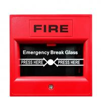 China 12 Years Factory 12/24VDC Emergency Break Glass , Fire Alarm Manual Call Point 2 Years Warranty on sale