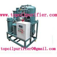 Quality Hi-efficient Transformer Oil Filtration Machine,degas,dewater,removing impurities,Stainless Steel wholesale