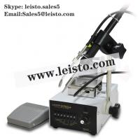 Quality 375B+ Self Feeder Soldering Station With Foot Pedal Leisto Soldering station wholesale
