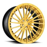 Quality Porsche Forged Wheels  22 inch gold painting alloy aluminum 3 piece forged wheels rims wholesale