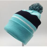 Quality Nice Womens Knit Beanie Hats 100% Acrylic Material Fully Customizable wholesale