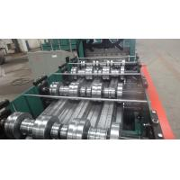 Quality Building Meta Closed Mouth Floor Deck Roll Forming Machine 0.8-1.6mm Thickness wholesale