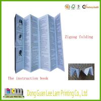 Quality High quality Zigzag folding board book printing service wholesale