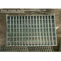 Buy cheap Flat Bar Galvanised Heavy Duty Steel Grating Manul Welding For Airports from wholesalers