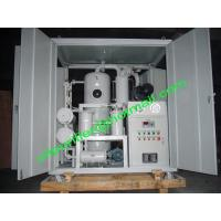 China Double Stage Vacuum Transformer Oil Filtration Plant, Insulation Oil Purifier Machine, Oil Processor Unit on sale