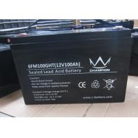 Quality 100Ah deep cycle charging lead acid batteries inverter solar Good discharge performance wholesale