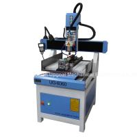 Quality 3D CNC Metal Engraving Machine 4 Axis with DSP A18 Control UG-6060 wholesale