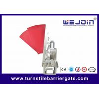 Buy cheap widen Security Crowd Control Access Control System Flap Barrier, manufacture of from wholesalers