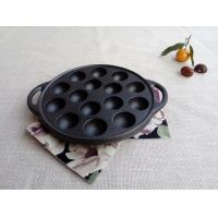 Quality Octopus Small Balls Shrimp Egg Mold Meatballs Iron Pan Grill Cast Iron Barbecue Tray Household wholesale