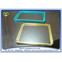 China Color Anodized Aluminum Extrusion Profiles In Tv And Display Frame on sale