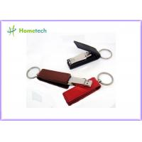 Quality Retail Genuine 32GB Rectangle Leather USB Flash Disk Pen Drive Memory Stick wholesale