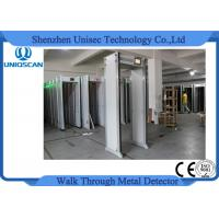 Quality 33 Zones Walk Through Security Multi Zone Metal Detector For Outdoor Indoor UZ800 wholesale