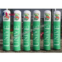 Quality Personalised Giant Advertising Inflatables , Promotion Use Inflatable Column wholesale