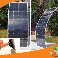 Quality Super Lightweight flexible solar panel for boat, Lorry,RV etc(USA sunpower cell) wholesale
