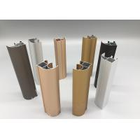 China Custom Color 6063 T5 Anodized Aluminum Profiles Oxidation Resistance ROHS / SGS on sale