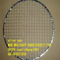 Quality round barbecue grill mesh exporting to korea wholesale