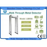 Quality Stability Affordable Multi Zone Door Frame Metal Detector Walk Through At School wholesale