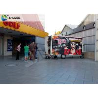 Quality Mobile 7D Movie Theater For Trailer Convenient In Shopping Mall Gate wholesale