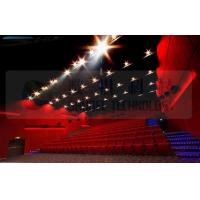 Quality 4D movie theater , thrilling movie , drastic movement of motion chair wholesale