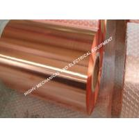Quality 18mm Width Copper Foil Tape , Cast Resin Transformer Copper Foil Roll wholesale