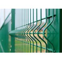 China vinyl coated wire mesh fencing on sale