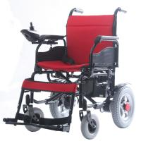 Cheap popular fold up disabled electric wheelchair for Fold up scooters motorized