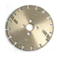 Quality High Sharpness Diamond Cutting Blade , Concrete Cutting Blades For Angle Grinder wholesale