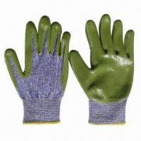 Quality Safety Gloves, Made of 13g Gauge Dyneema, with Nitrile Coated Palm and Finger, for Hand Protection wholesale