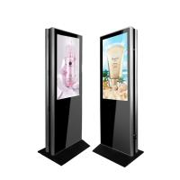 Quality Floor Standing LCD Digital Signage Kiosk Ultra Slim Double Side 47 Inch 450cd/m2 wholesale