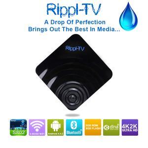 Quality Addons fully loaded Rippl-TV Android4.4.2 TV Box Amlogic S802 2GB/8GB Quad Core Mini PC Smart TV Media Player wholesale