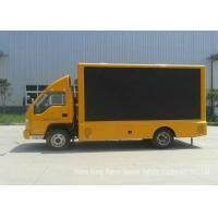 China Forland Mobile LED Billboard Truck With 3 Side LED Screen For Advertising Display on sale